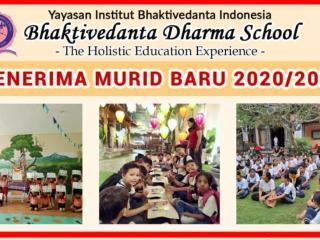 Cover - Pendaftaran Siswa Baru Bhaktivedanta Dharma School
